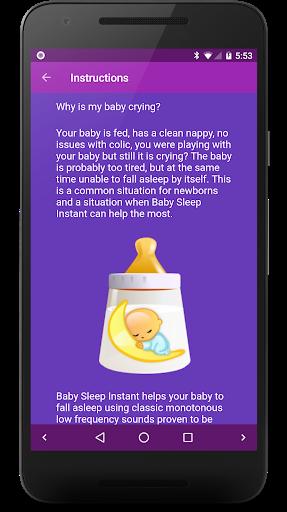 Baby Sleep 🍼 White noise lullabies for newborns screenshot 5