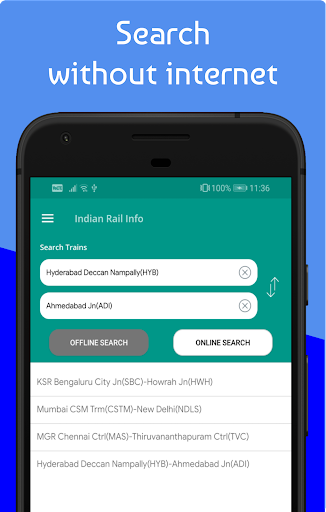 Live Train & Indian Railway PNR Status - IRCTC screenshot 5