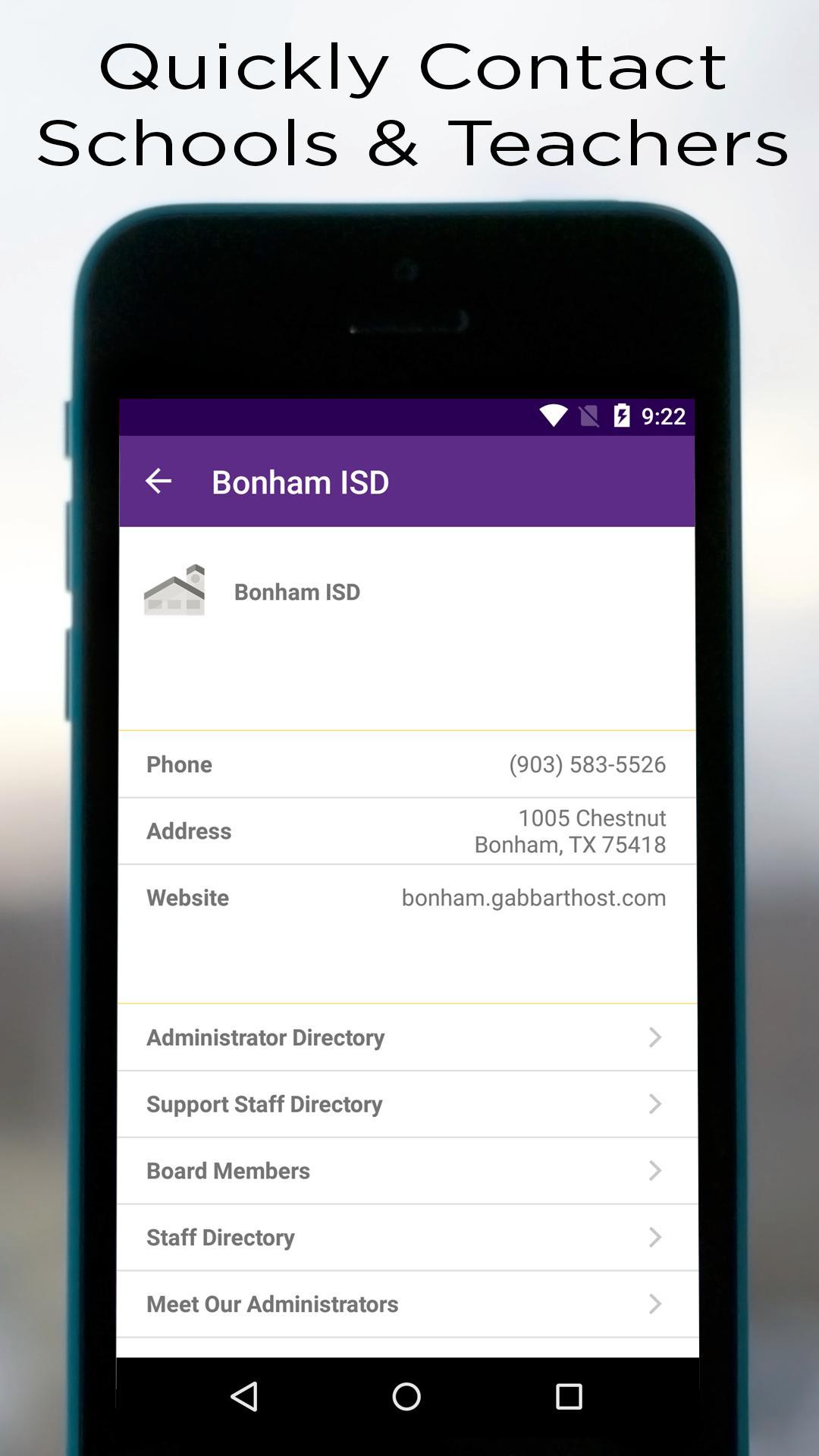 Bonham ISD 3 تصوير الشاشة