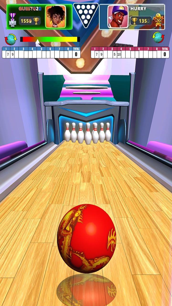 World Bowling Championship - New 3d Bowling Game 1 تصوير الشاشة
