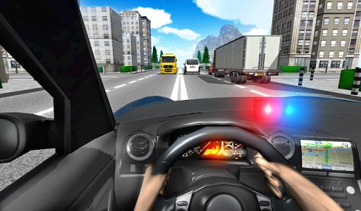 Police Driving In Car screenshot 1