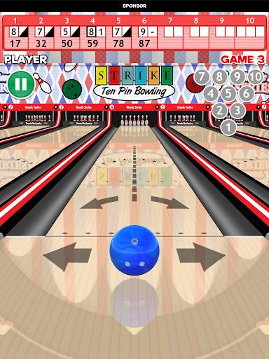 Strike! Ten Pin Bowling 21 تصوير الشاشة