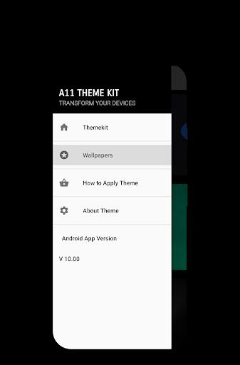 A11 Theme Kit 3 تصوير الشاشة