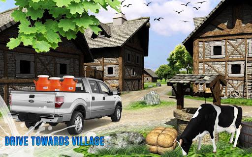 Milk Van Delivery Simulator 2018 screenshot 2