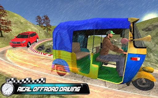 Prado vs Tuk Tuk Auto Rickshaw Racing screenshot 4