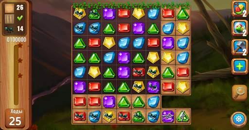 Самоцветы или кристаллы ?  Три в ряд screenshot 12