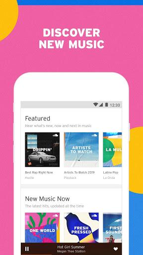 SoundCloud - Play Music, Audio & New Songs 2 تصوير الشاشة