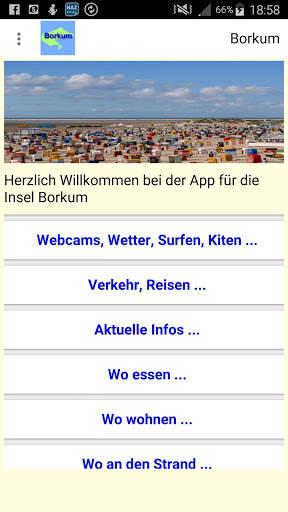 Borkum App für den Urlaub screenshot 1