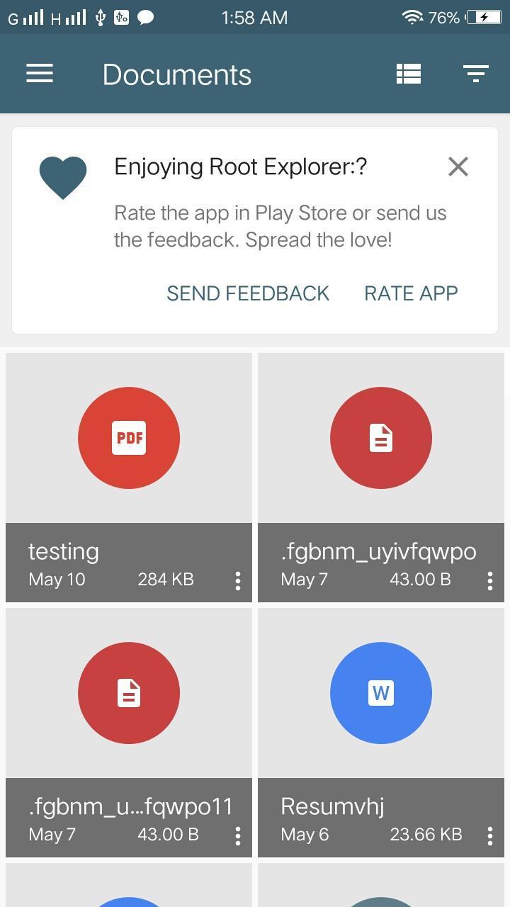 Root Explorer screenshot 4