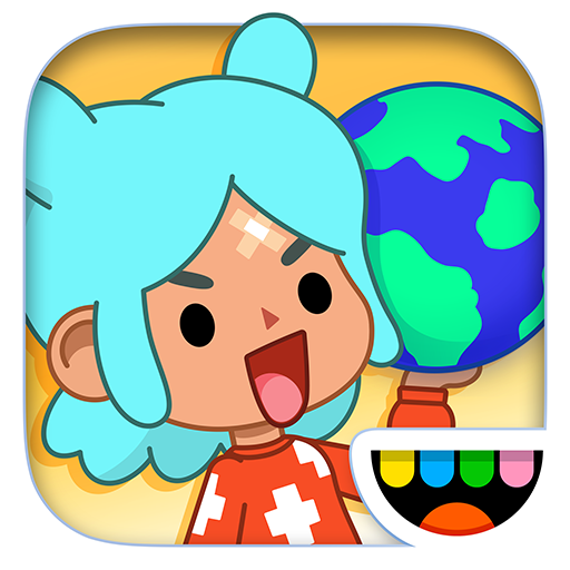 Toca Life World: Build stories & create your world أيقونة