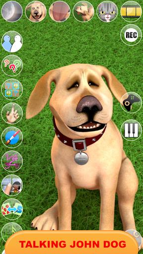 يتحدث جون الكلب: الكلب مضحك 8 تصوير الشاشة