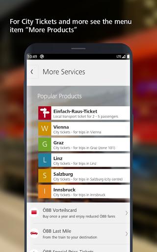 ÖBB – Train Tickets & More screenshot 4