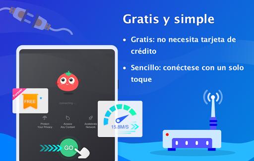 VPN Tomato gratis | Veloz proxy VPN hotspot gratis screenshot 7