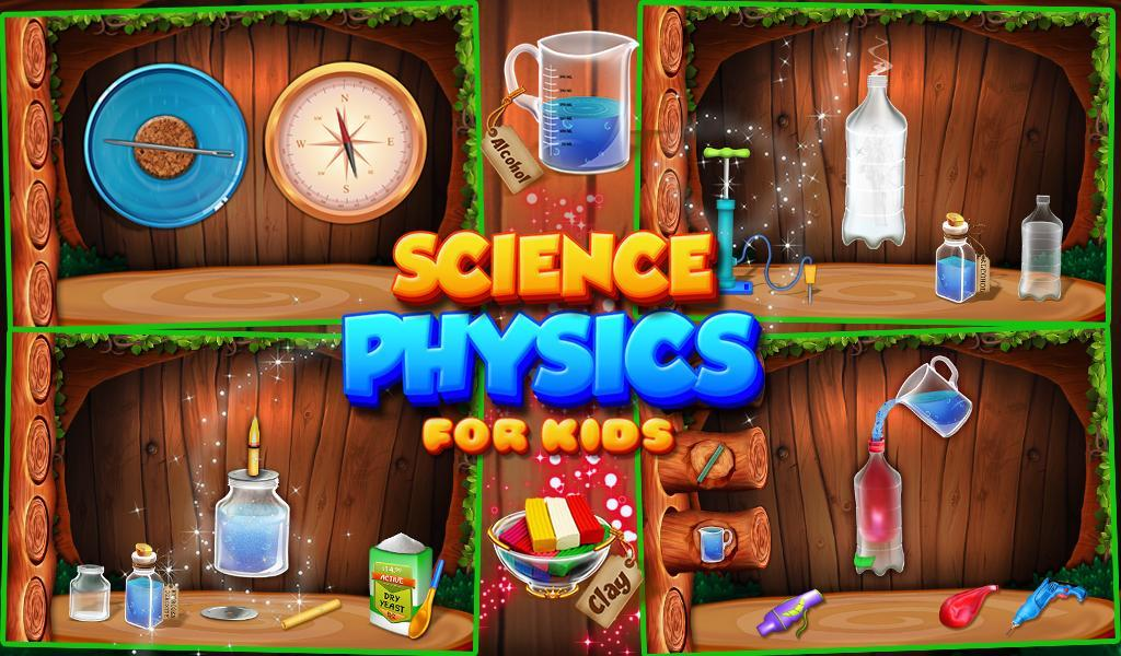 Science Physics For Kids स्क्रीनशॉट 5
