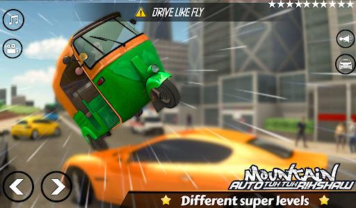 Mountain Auto Tuk Tuk Rickshaw Novos Jogos de 2020 screenshot 5