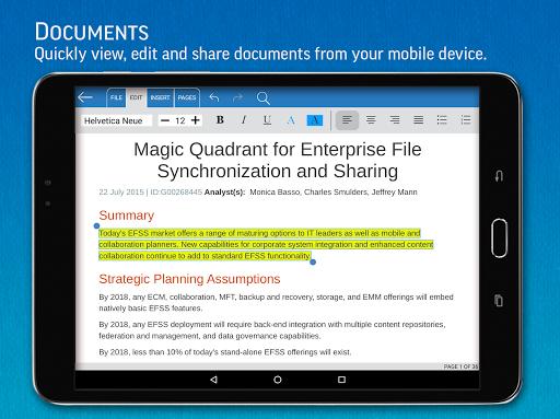 SmartOffice - View & Edit MS Office files & PDFs screenshot 10