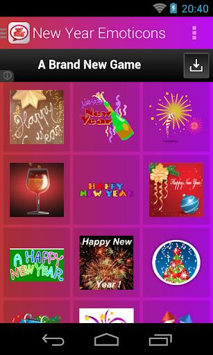 New Year Emoticons screenshot 1