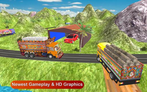 Indian Cargo Truck Driver : Truck Games screenshot 3