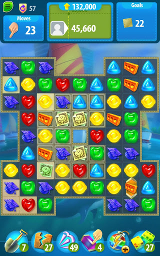 Gummy Drop! Match to restore and build cities screenshot 14