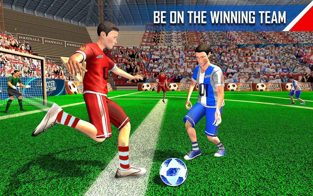 Real Football WC 2018 Dream League Soccer Stars 8 تصوير الشاشة