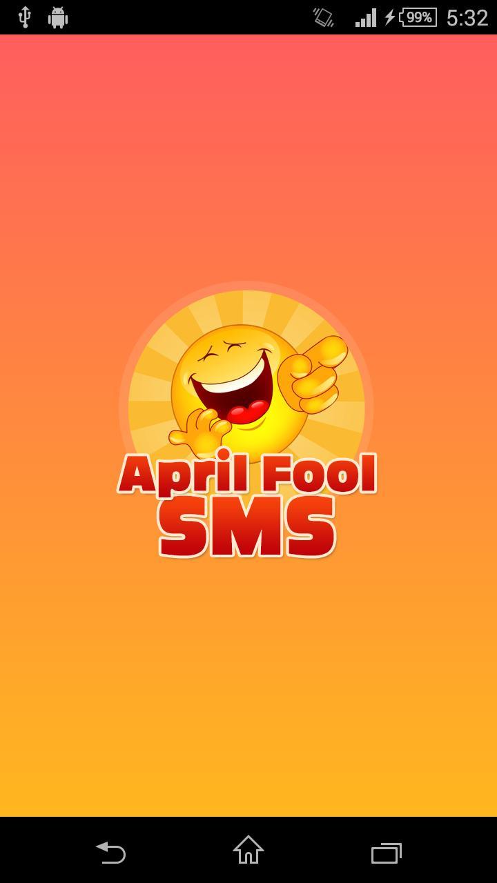 April Fool SMS screenshot 1