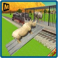 النقل بالقطار: حيوانات الحديقة on APKTom