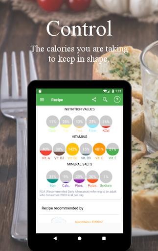Vegetarian and vegan recipes screenshot 11