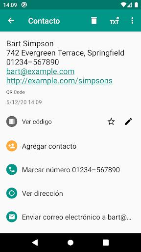 Lector de códigos QR y barras (español) screenshot 3
