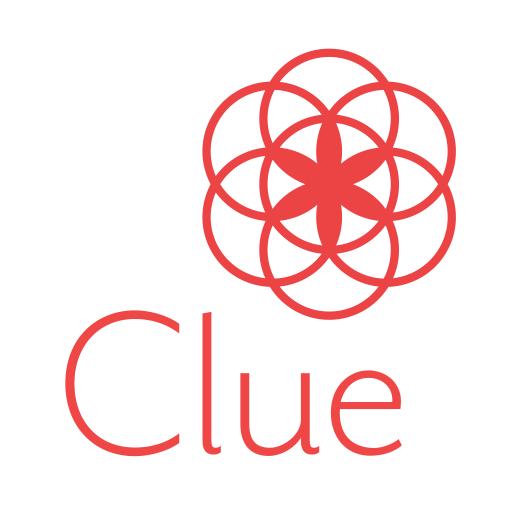 Clue Period Tracker, Cycle & Ovulation Calendar أيقونة