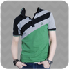 Man In T-Shirt Photo Suit icon