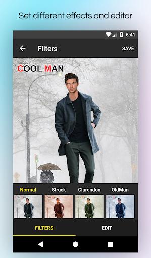 Men Winter Jacket Suit screenshot 7