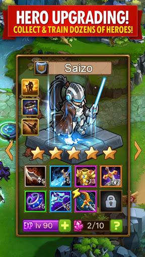 Magic Rush: Heroes 3 تصوير الشاشة