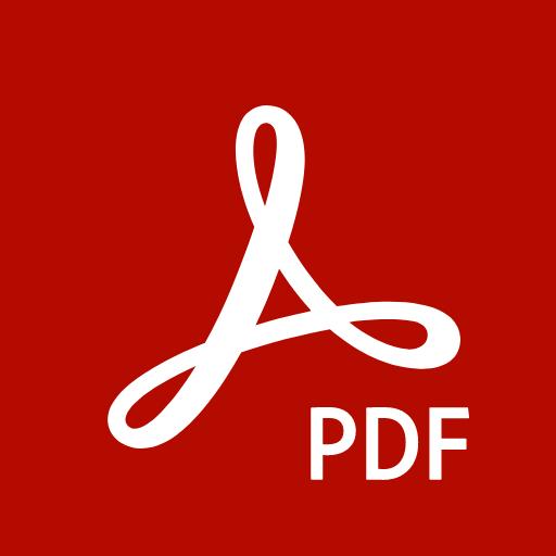 Adobe Acrobat Reader: PDF Viewer, Editor & Creator أيقونة
