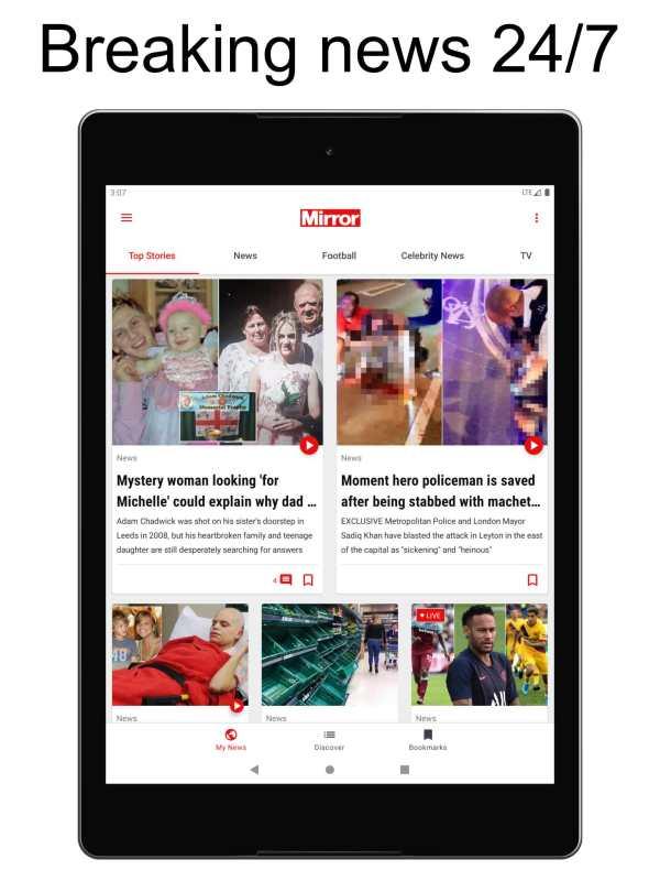 The Mirror App: Daily News screenshot 5