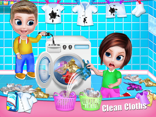 House Cleaning - Home Cleanup Girls Game screenshot 4