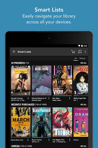 Comics 9 تصوير الشاشة