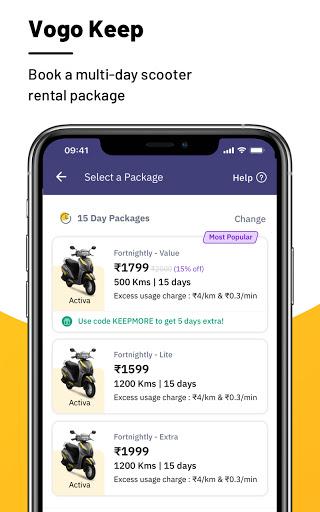 VOGO -Scooter & Bike Rental App | Rent.Ride.Return 3 تصوير الشاشة