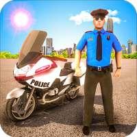 Police Motorbike Traffic Rider on 9Apps