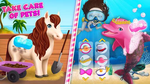 Sweet Baby Girl Summer Fun 2 - Sunny Makeover Game 8 تصوير الشاشة
