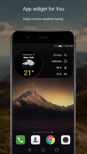 الطقس لمدة 16 يوما 4 تصوير الشاشة