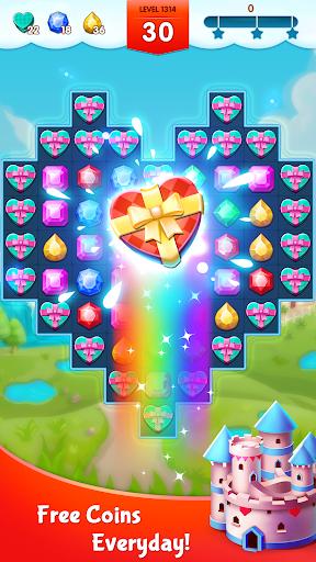أسطورة الجواهر - المباراة 3 اللغز 5 تصوير الشاشة