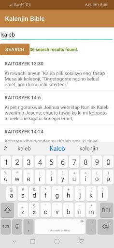 Kalenjin Bible - Old and New Testament 4 تصوير الشاشة