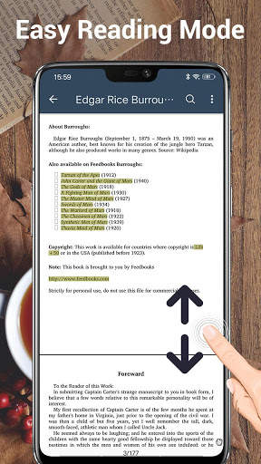 قارئ الكتاب الاليكتروني و ريدر 5 تصوير الشاشة