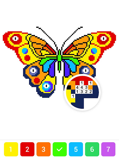 Draw.ly - Color by Number Pixel Art Magic Coloring screenshot 12