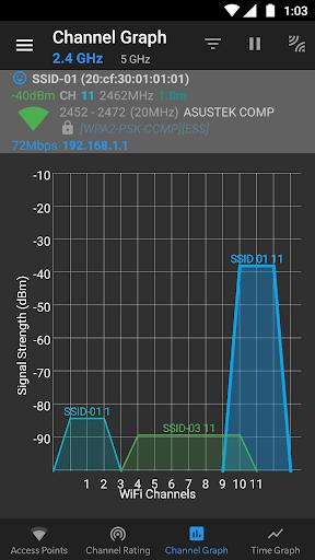 WiFi Analyzer (open-source) screenshot 4