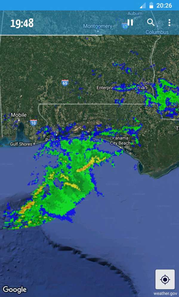 Rainy Days Rain Radar screenshot 1