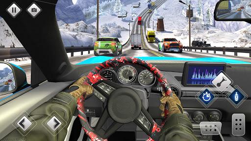 الطريق السريع القيادة سيارة سباق لعبه سيارة ألعاب 4 تصوير الشاشة
