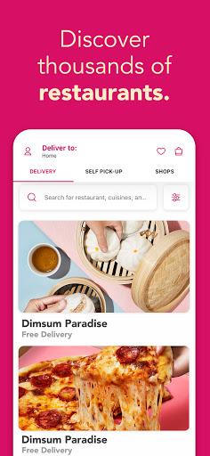 foodpanda - Local Food & Grocery Delivery screenshot 5
