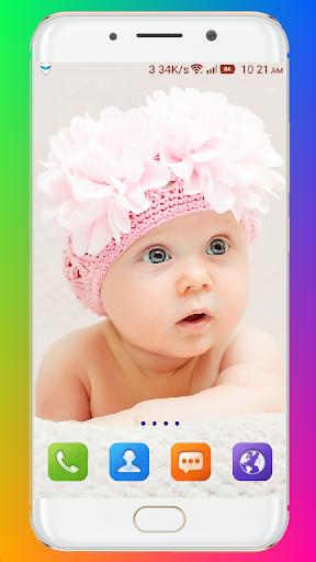 Cute Baby Wallpaper screenshot 8