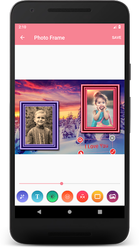 Family Dual Photo Frames screenshot 5